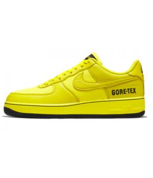 Кроссовки Nike Air Force 1 желтые