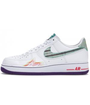 Кроссовки Nike Air Force 1 Pregame Pack Music белые
