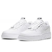 Кроссовки Nike Air Force белые моно