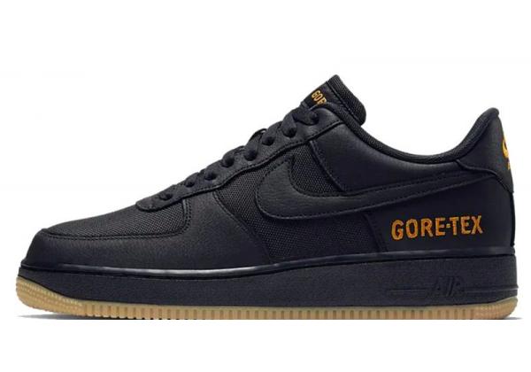 Кроссовки Nike Air Force Gore-Tex черные