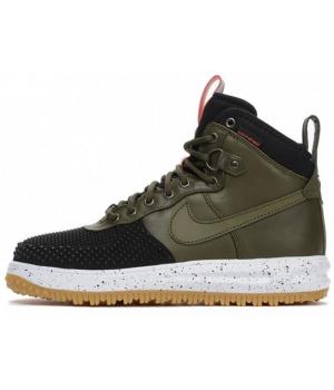 Кроссовки Nike Air Force 1 Lunar Duckboot хаки