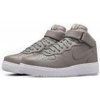 Nike кроссовки Air Force 1 Mid Grey