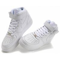 Nike Air Force 1 зимние белые моно