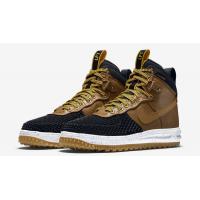 Кроссовки Nike Air Force 1 Lunar Duckboot моно коричневые
