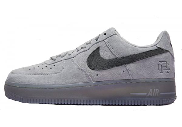 Кроссовки Nike Air Force 1 Low Suede серые