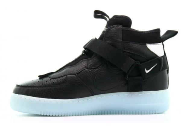 Кроссовки Nike Air Force 1 LV8 Utility черный