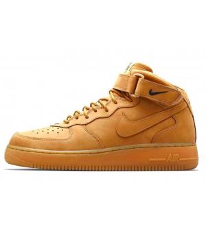 Nike кроссовки Air Force 1 Mid '07 Beige
