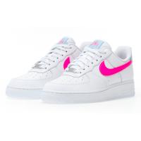 Кроссовки Найк Классические белые с розовым