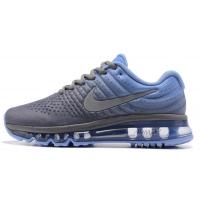Nike Air Max 2017 серые с голубым
