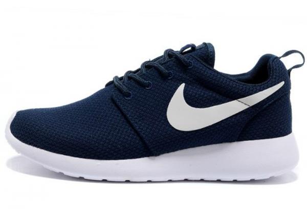 Кроссовки Nike Roshe Run синие