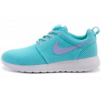 Кроссовки Nike Roshe Run голубые