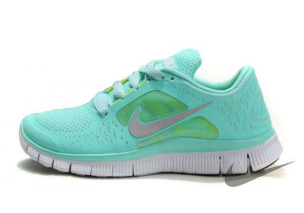 Nike Free Run лазурные