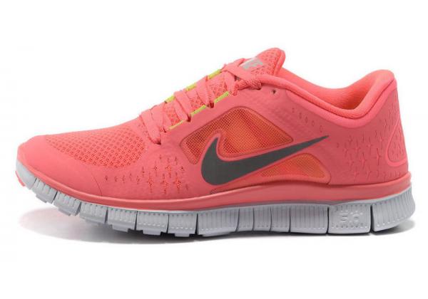 Кроссовки Nike Free Run розовые
