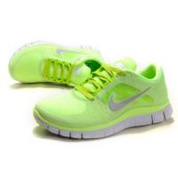 Кроссовки Nike Free Run зеленые