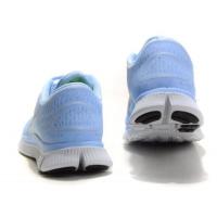 Кроссовки Nike Free Run 5.0 голубые