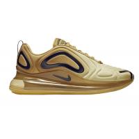 Кроссовки Nike Air Max 720 золотистые