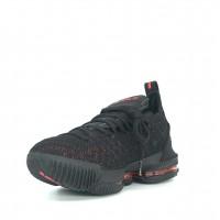 Кроссовки Nike Lebron моно черные