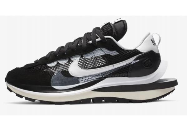 Кроссовки Nike Sacai Vapor Waffle черные
