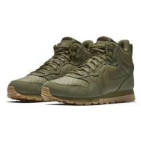 Кроссовки Nike MD Runner 2 Mid зеленые