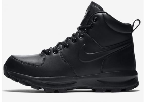 Кроссовки Nike Manoa Leather черные