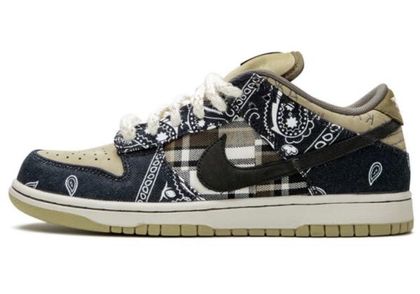 Кроссовки Nike SB Dunk Traviss Scott мульти