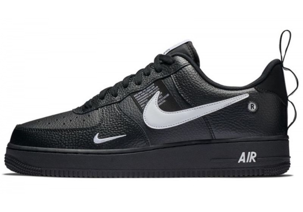 Nike кроссовки Air Force 1 07 LV8 Utility «And The Swoosh» Black