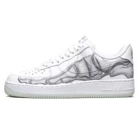 Nike кроссовки Air Force 1 Low Skeleton Halloween White