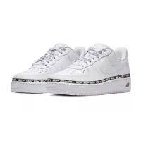 Nike кроссовки Air Force 1 '07 Se Premium Overbranded белые