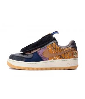 Кроссовки Nike Air Force 1 Travis Scott мульти