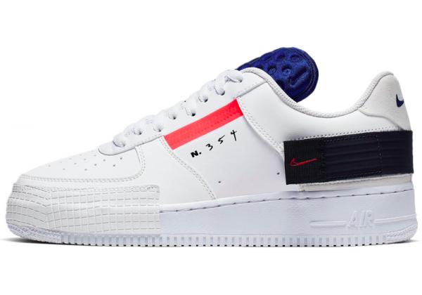 Nike кроссовки Air Force n 354 белые с синим