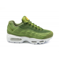 Кроссовки Nike (Найк) Air Max 95 зеленые мужские