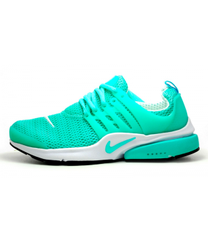 Кроссовки Nike Air Presto зеленые с белым