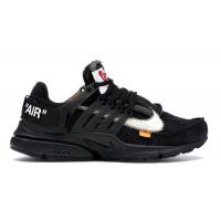 Кроссовки Nike Air Presto X Off-White полностью черные