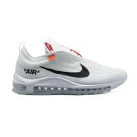 Кроссовки Air Max 97 &Off-White белые