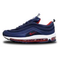Кроссовки Air Max 97 синие с красным