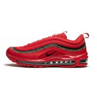 Кроссовки Nike Air Max 97 красные с черным