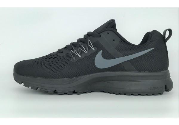 Кроссовки Nike Zoom моно черные