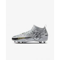 Бутсы Nike Phantom Scorpion серебристые