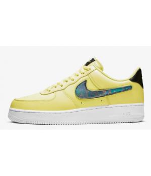 Кроссовки Nike Air Force 1 07 3 желтые