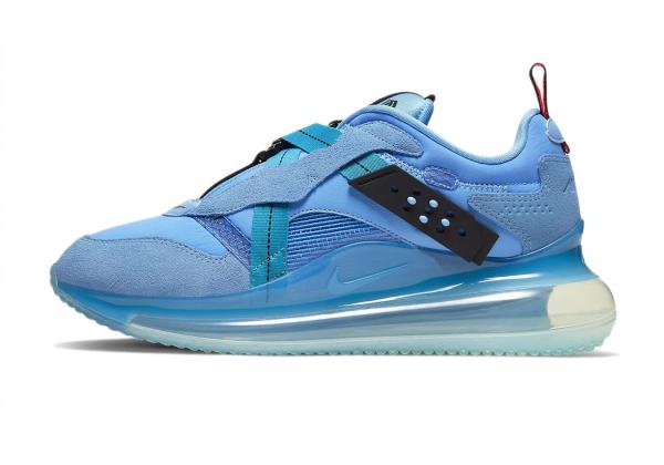 Кроссовки Nike Air Max 720 Slip Obj синие