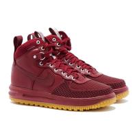 Кроссовки Nike Lunar Force 1 Duckboot '17 красные