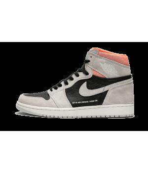 Jordan кроссовки 1 Retro High OG Neutral Grey серые