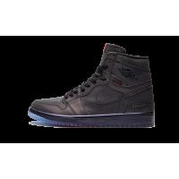 Jordan кроссовки 1 High Zoom Fearless черные
