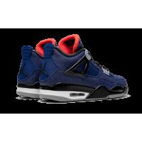 Jordan кроссовки 4 WNTR Winterized синие