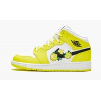 Jordan кроссовки 1 Mid GS Dynamic желтые