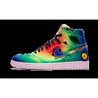 Jordan кроссовки 1 Retro High OG J Balvin мульти