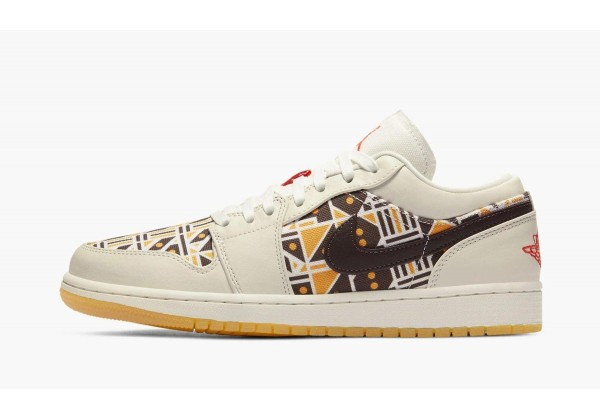 Jordan кроссовки 1 Low Quai 54 мульти
