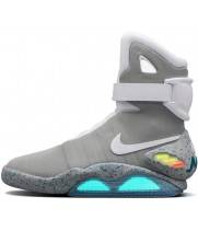 Кроссовки Nike Air Mag Back To Future серые