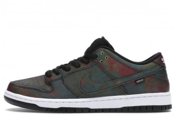 Кроссовки Nike CB Dunk Civilist черные