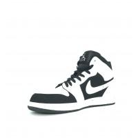 Кроссовки Nike Air Jordan белые с черным